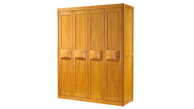 实木衣柜 中式衣柜 卧室橱柜更衣柜 三四五六门衣柜F925