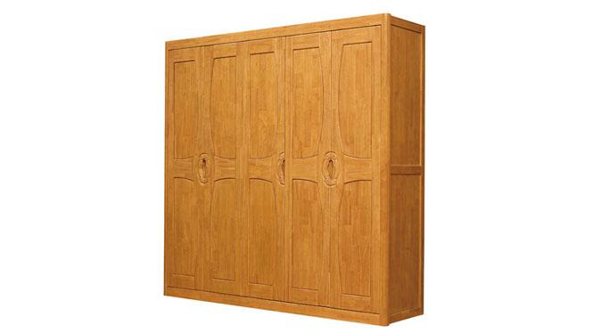 实木衣柜 三四五六门衣柜 实木 组合衣柜新中式家具衣柜F922