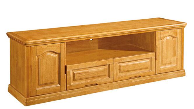 1.6m电视柜 客厅全实木地柜 中式电视柜 储物地柜F105