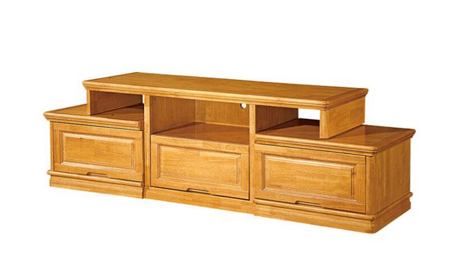 1.8m电视柜 客厅全实木地柜 中式电视柜 储物地柜F106