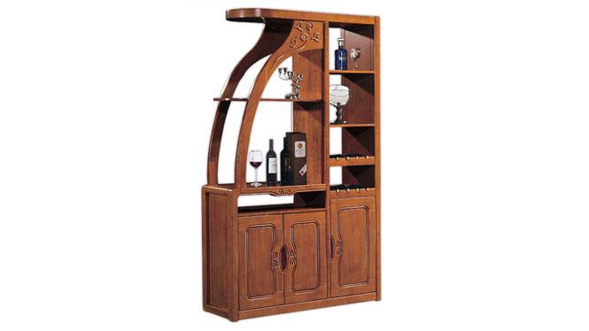 实木隔断柜 间厅柜酒柜实木门厅柜客厅隔断柜 家具隔断柜F609