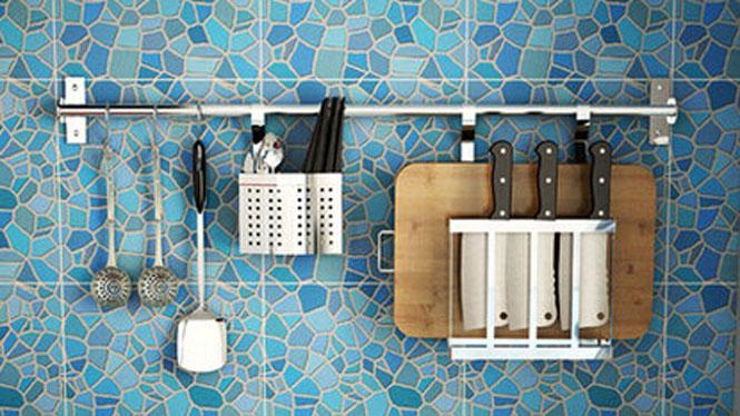 304不锈钢厨房置物架壁挂沥水架折叠碗碟架盘架筷子笼 套餐一