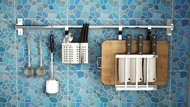 304不锈钢厨房置物架壁挂沥水架折叠碗碟架盘架筷子笼 套餐六