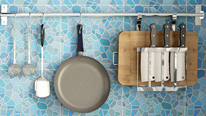 304不锈钢厨房置物架壁挂沥水架折叠碗碟架盘架筷子笼 套餐七