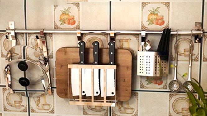 304不锈钢厨房置物架壁挂沥水架折叠碗碟架盘架筷子笼 套餐十二