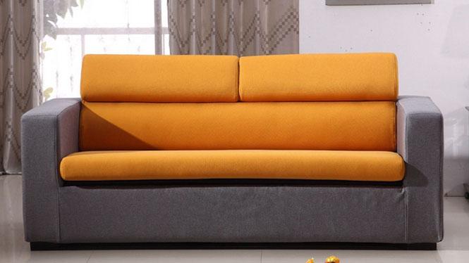 可收藏伸缩沙发床 可拆洗布套2米沙发69#