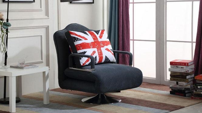 客厅家具 特价简约现代 午睡 两用 多功能折叠沙发床72#