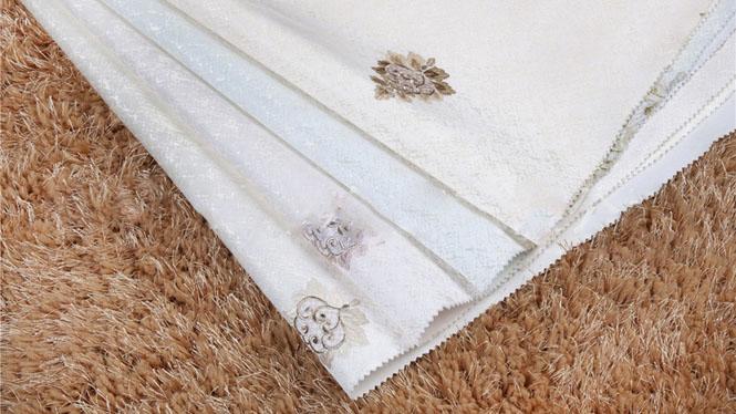 高档刺绣墙布 欧式壁布 温馨奢华客厅卧室背景绣花CX-B