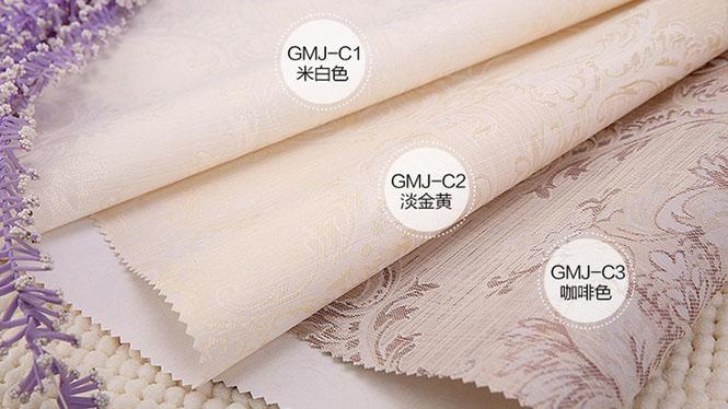奢华欧式高档无缝墙布金银亮丝无纺布墙纸壁布GMJ-C