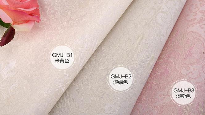 欧式高档无缝墙布 环保防水防污 优于墙纸 来样定做 承接工程GMJ-B