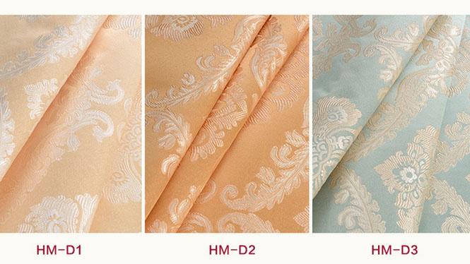 欧式奢华高档无缝墙布立体提花壁布客厅卧室美式大气 HM-D