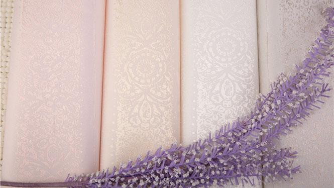 高档欧式无缝墙布现代简约客厅卧室竖条纹壁布GMJ-D