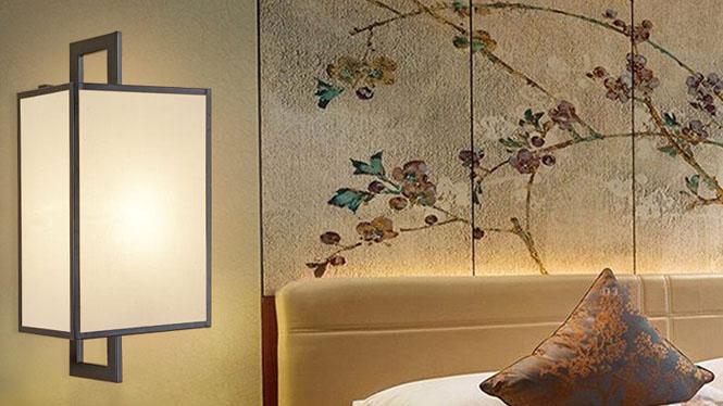 新中式壁灯客厅楼梯灯床头灯卧室走廊过道灯现代简约创意壁灯D1025-B