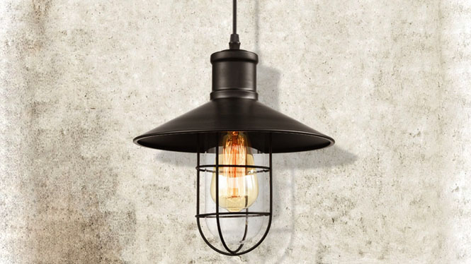 北欧复古餐厅灯工业吊灯美式乡村loft酒吧台鸟笼铁艺阳台MD1228