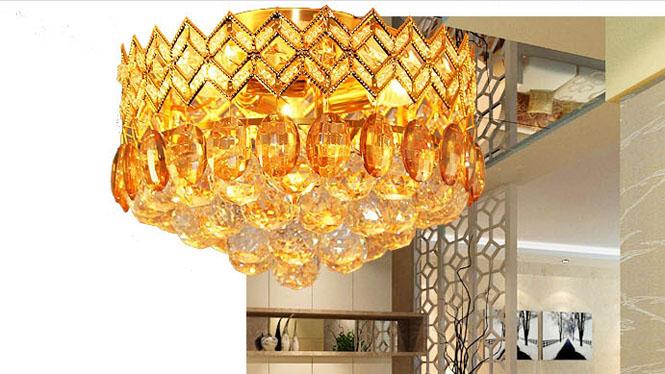 玄关灯 过道灯门厅 灯具 水晶吸顶灯 83001