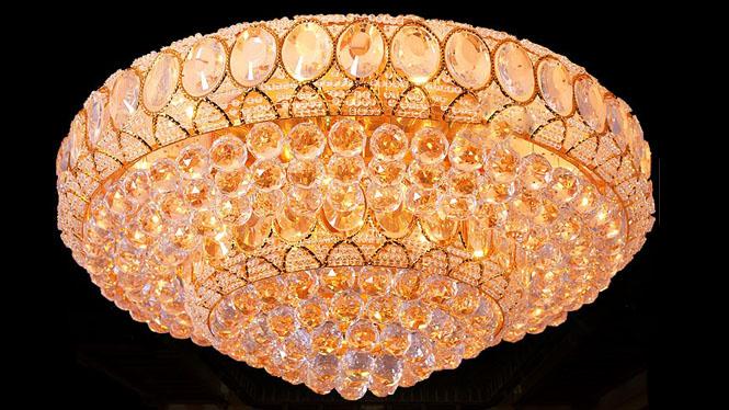 客厅灯led吸顶灯大厅家居照明洒店工程灯饰具 7811