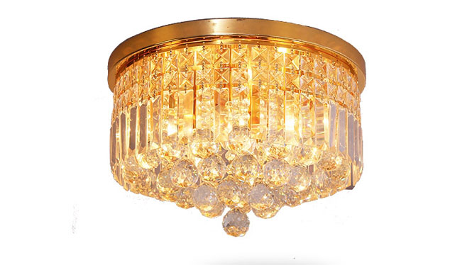 卧室 过道灯玄关灯欧式客厅吸顶灯水晶灯 10101-400