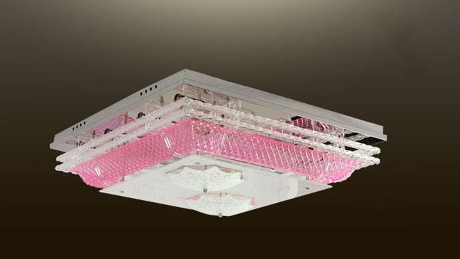 卧室书房吸顶灯 现代简约LED方形卧室灯 8008
