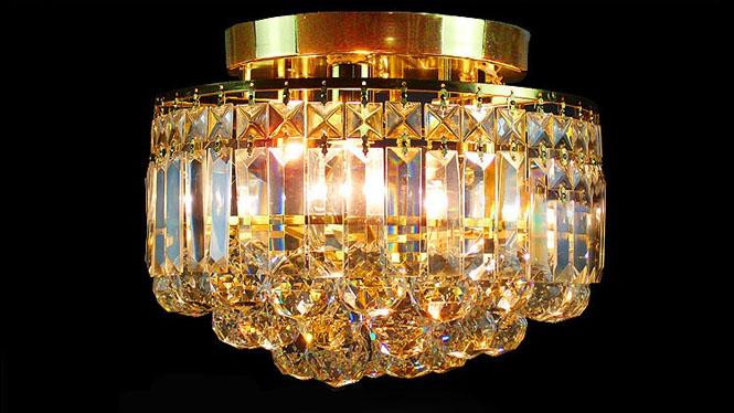 特价过道灯走道灯玄关吸顶灯金色灯饰具 A224C1