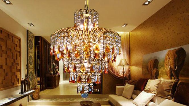餐厅吊灯客厅餐厅卧室灯具饰水晶吊灯7头A111P2