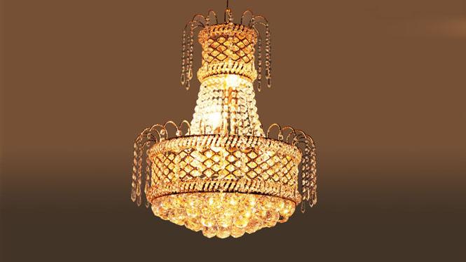 吊灯客厅卧室楼梯吊灯家居照明灯具饰6头 9017