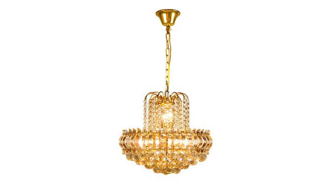 金色水晶吊灯餐吊楼梯吊灯豪华餐吊过道小吊灯8头 6005