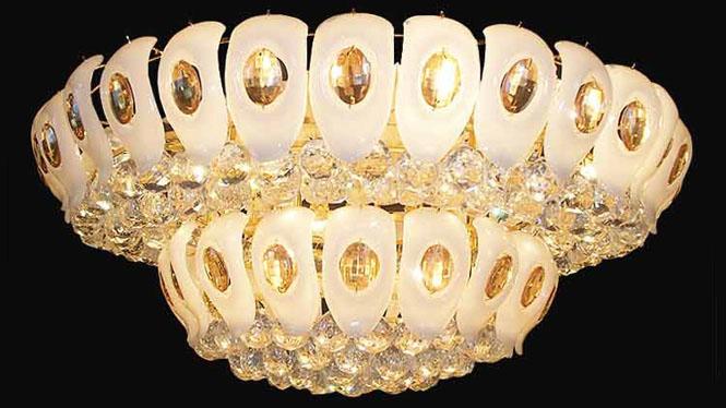 现代简约灯吸顶灯卧室客厅灯圆形灯饰具 9003