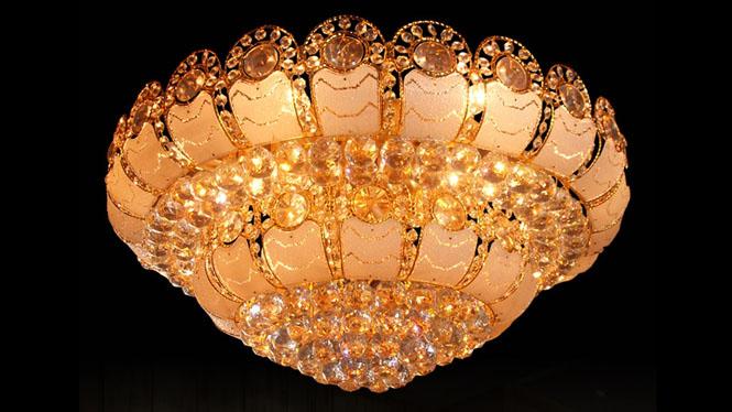 LED吸顶灯 现代客厅吸顶灯具 卧室灯 客厅灯我是照明 9905