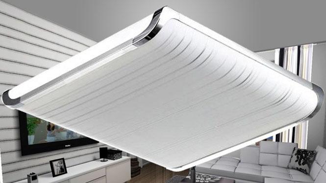 客厅灯 亚克力吸顶灯 现代简约LED灯 平板吸顶灯 6816