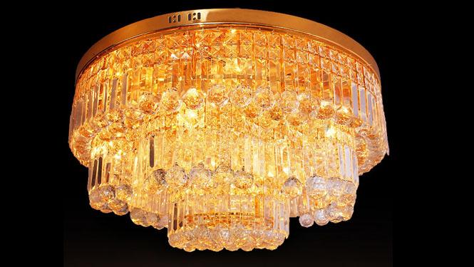 吸顶灯 客厅灯具 led大功率照明水晶吸顶灯 9970