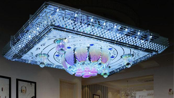 个性创意吸顶灯水晶豪华客厅卧室灯水晶吸顶灯1563