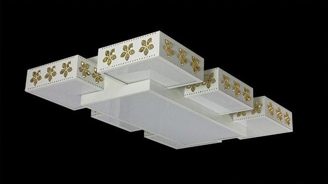 吸顶灯LED客厅书房卧室创意美式酒店高端7头5头1515182
