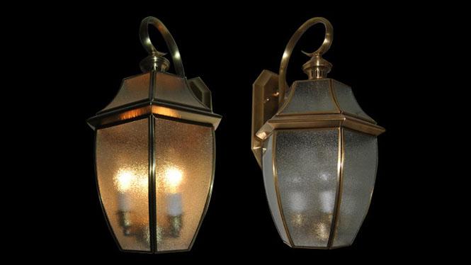欧式家居照明铜壁灯 美式楼梯过道壁灯新中式户外壁灯阳台壁灯B810M