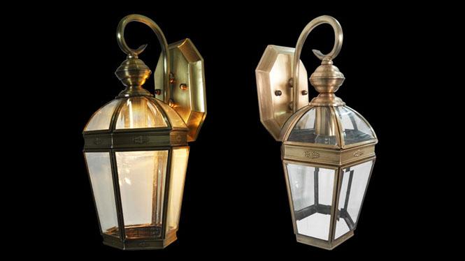 欧式壁灯全铜户外防水复古创意卧室床头灯过道楼梯灯B901