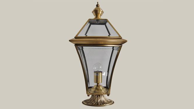 全铜柱头灯 创意欧式柱头灯 全铜焊锡防水围墙灯 户外庭院灯具ZT861