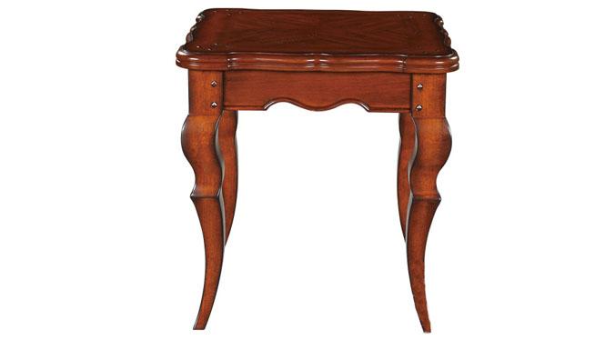 美式实木角几 边几 电话几 电话桌 边桌 欧式小茶几600-07-35