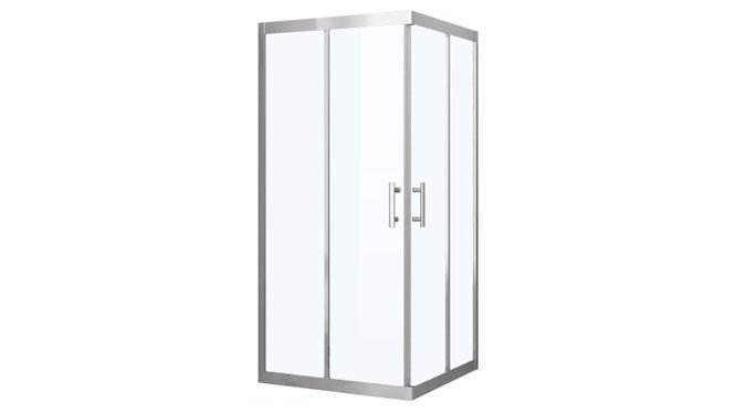 方形不锈钢淋浴房定制 整体淋浴房浴室简易玻璃洗浴屏322003