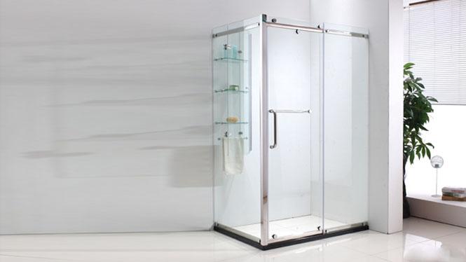方形淋浴房不锈钢整体浴房隔断淋浴间屏风沐浴房322001