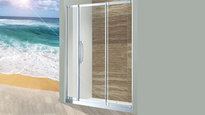 淋浴房一字形304不锈钢定做浴室屏风卫生间隔断122001