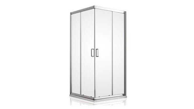 方形沐浴房 铝材整体淋浴房 屏风隔断 钢化玻璃312005