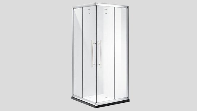 方形铝材隔断整体淋浴房沐浴房 洗澡房移门式淋浴房312002