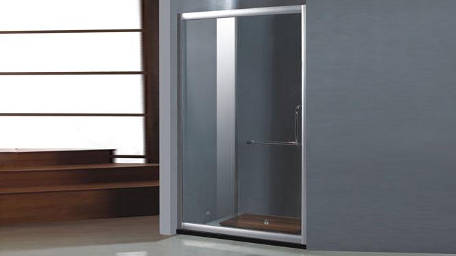一字型 铝合金 淋浴房 推拉门 玻璃隔断112005