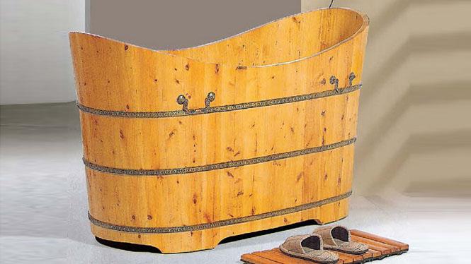 熏蒸浴盆 木质泡澡盆 洗澡沐浴缸沐浴盆 成人养生沐浴桶 洗澡木桶003A