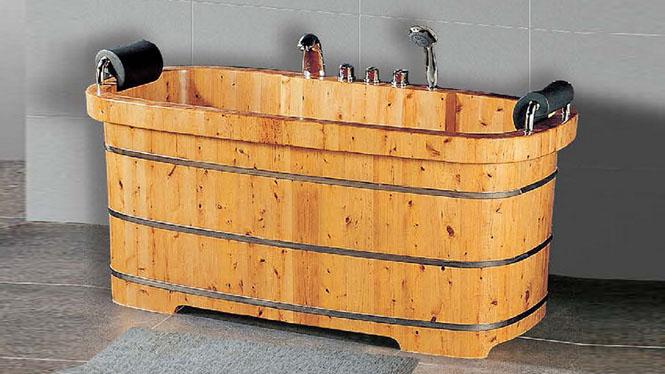 成人浴桶 洗澡木桶 养生理疗泡澡盆 木质家用沐浴缸030A