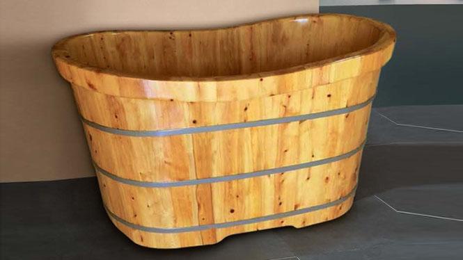 泡澡盆 桑拿沐浴缸 天然环保养生美容浴桶 木质成人洗浴盆 洗澡盆011A