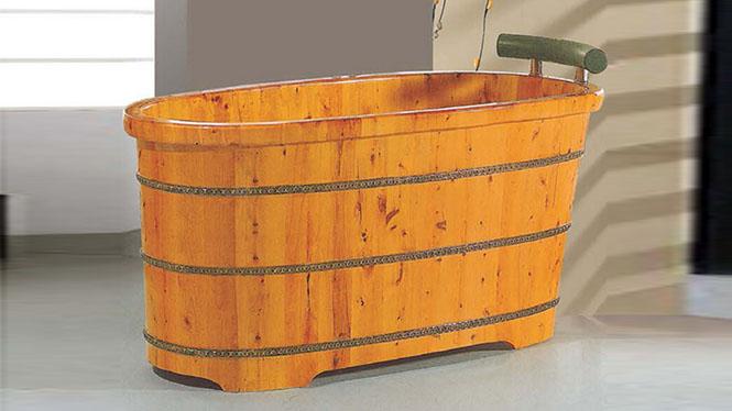 成人沐浴盆 超大号洗浴木桶 家用桑拿沐浴缸 天然环保泡澡盆002A