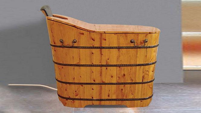 熏蒸浴缸 桑拿沐浴缸 成人美容理疗泡澡盆 家用养生洗浴木桶001A